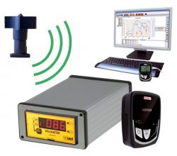 Anemometer rýchlosti vetra s datalogerom WM44-PD-RF - bezkáblové meranie