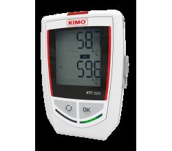 Datalogger - záznamník KIMO KTT220 - vstup pre termočlánky