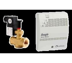 Detektor úniku plynu BEAGLE-CH4 - sada s ventilom