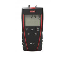 Digitálny mikromanometer KIMO MP110 - s kalibráciou