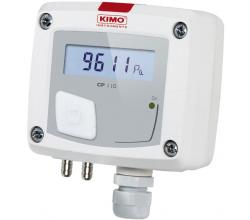 Prevodník tlaku KIMO CP112 (-1000 do + 1000 Pa)