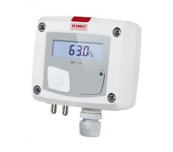 Prevodník tlaku KIMO CP111 (-100 až +100 Pa)