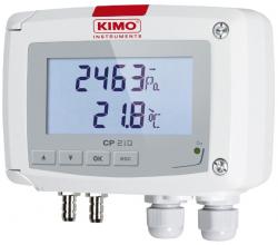 Prevodník tlaku KIMO CP215 (-2000 do +2000 mBar)