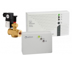 Sada SEGUGIO Plus CH4 - 2 detektory s ventilom
