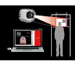 Termovízna kamera na meranie telesnej teploty hlavy - optris PI450i s blackbody