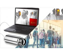 Termovízna kamera na meranie telesnej teploty hlavy - optris Xi80 a Xi400
