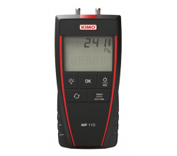 Digitálny mikromanometer KIMO MP110 - bez kalibrácie